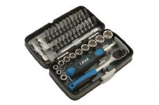 LASER TOOLS - GLOVEBOX SIZE 1/4 DRIVE 38 PIECE SET SOCKET RATCHET - 5960